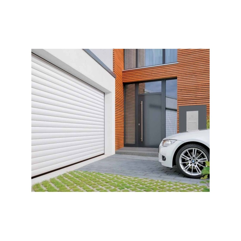 Porte de garage enroulable rollmatic h rmann 2 for Installation porte de garage enroulable