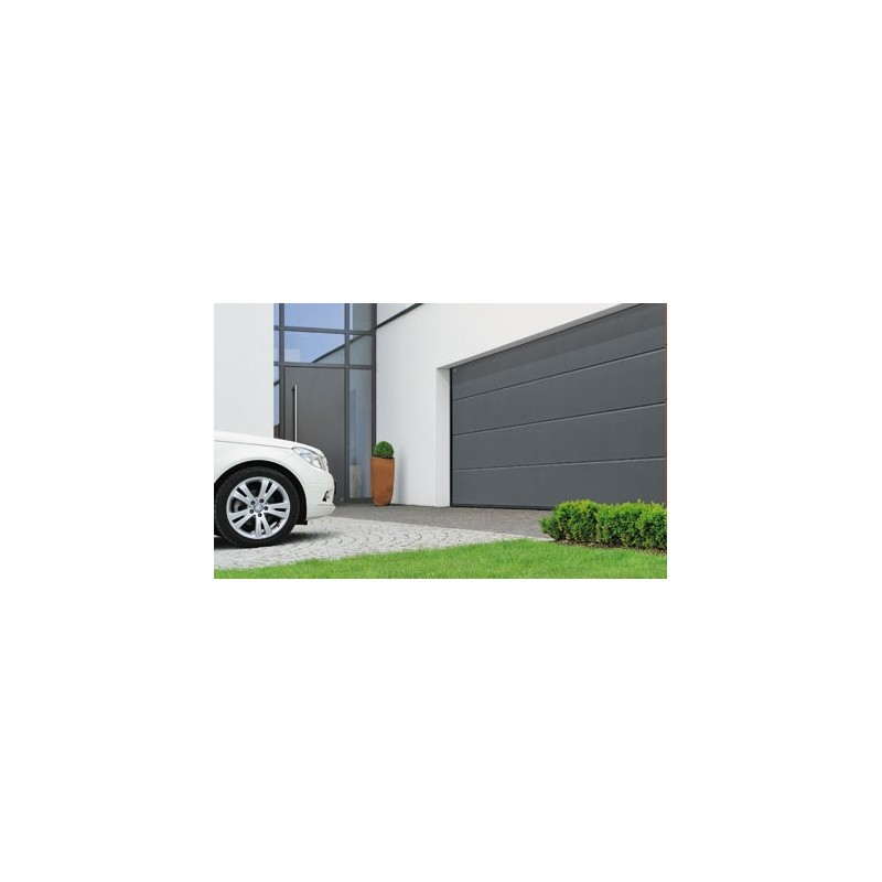 Porte de garage sectionnelle h rmann 1 for Porte de garage 60 mm